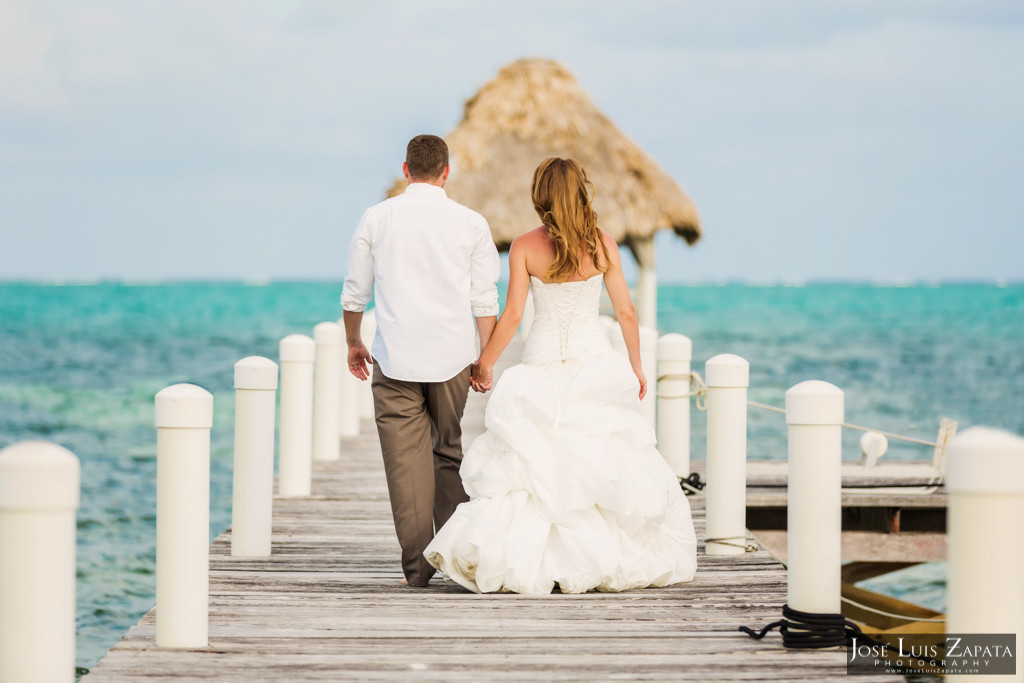 Mike & Jaclyn Wedding Photos - San Pedro Belize (31)