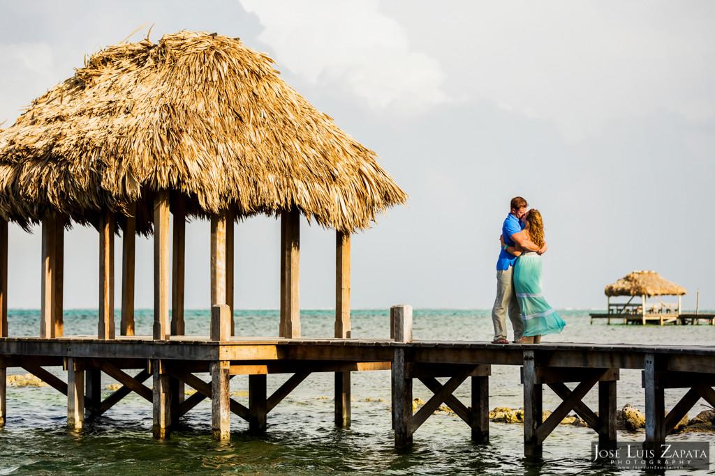 Wayne & Jan- Belize Honeymoon Photo Shoot - Victoria House (12)