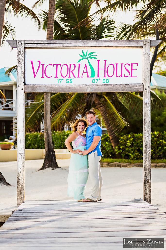 Wayne & Jan- Belize Honeymoon Photo Shoot - Victoria House (5)