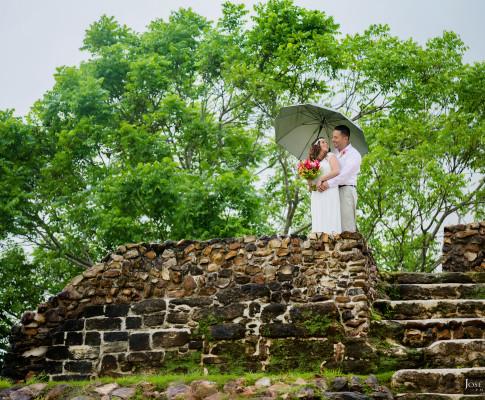 Altun Ha Mayan Ruin Elopement Wedding