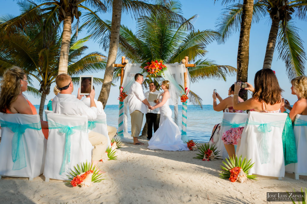 Intimate Wedding Belize - Belizean Shores Ambergris Caye Resort