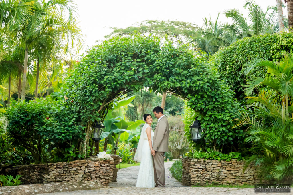 Adrian & Gaylan - San Ignacio, Blancaneaux Resort - Belize Wedding (1)