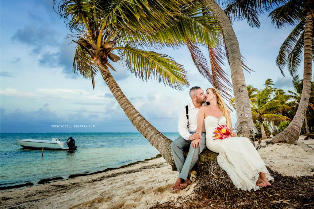 San Pedro Belize Destination Wedding
