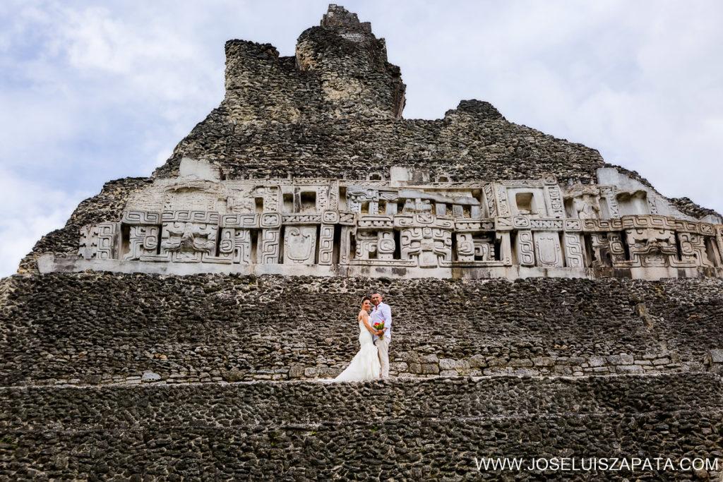 Destination Belize Weddings - Mayan Ruins Weddings