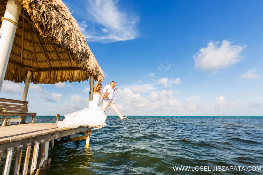Belize Destination Weddings - Beach Wedding Photos