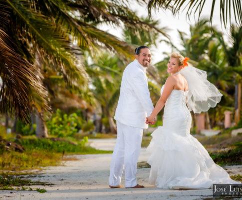 Coco Beach Belize Wedding