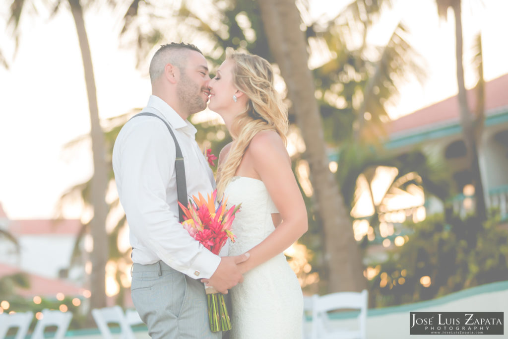 Belizean Shore Wedding - Belize Wedding