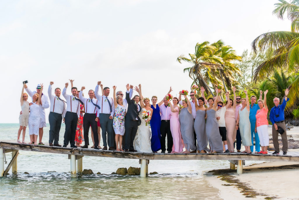 Belize Wedding - San Pedro Photographer - Jose Luis Zapata Photography
