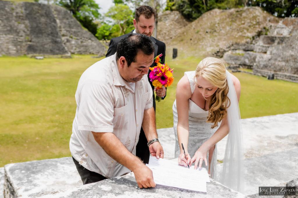 Derek & Megan - San Ignacio Resort & Maya Ruin Wedding - Belize Photographer (25)