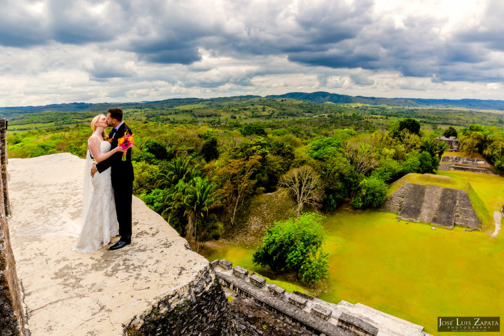 Derek & Megan - San Ignacio Resort & Maya Ruin Wedding - Belize Photographer (9)