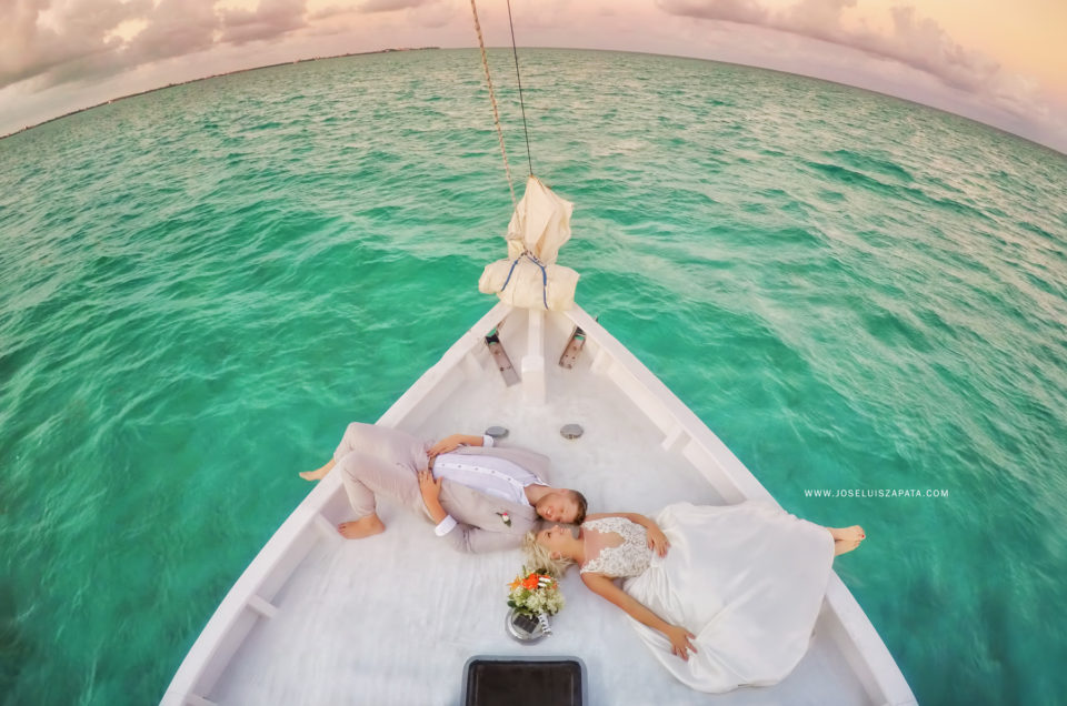 Belize Sailboat Wedding