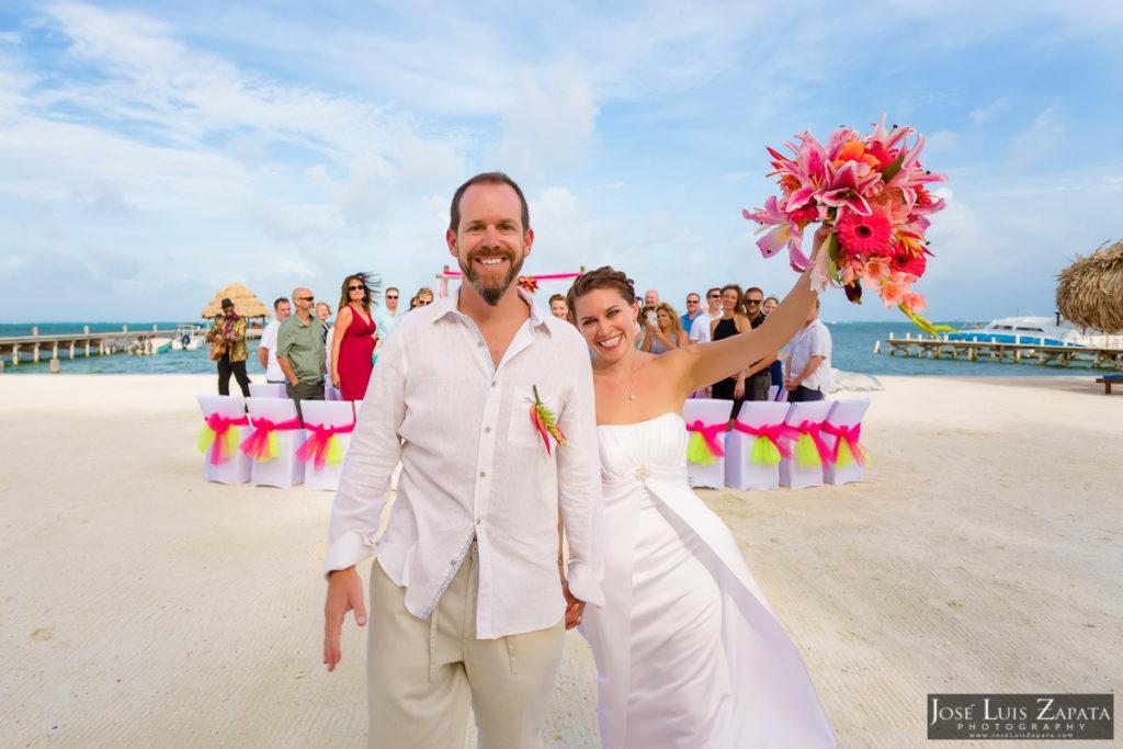 xanadu island wedding belize wedding jose luis zapata