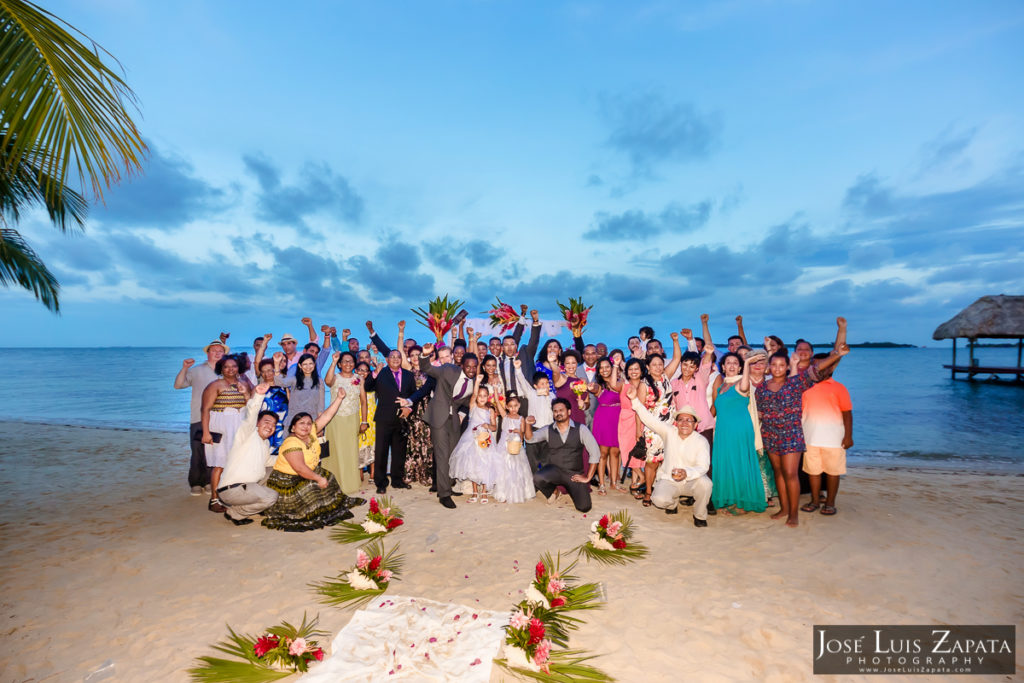 Next Day Wedding Photos In Placencia Village